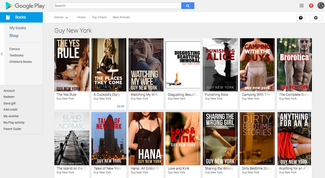 books bookstore erotica apple news